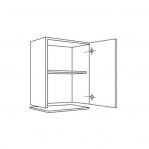 mueble alto 1 puerta campana extraplana H:70, 90h